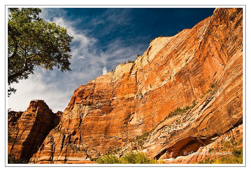 Zion Canyon, Zion National Park, Utah,USA