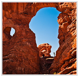 Turret Arch, Arches National Park,Utah, USA