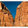 Towering Cliffs of Zion Canyon, Southwest Utah, USA    Photo-ID Utah-0079