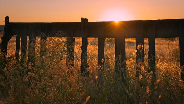 Sunrise in Frenchglen