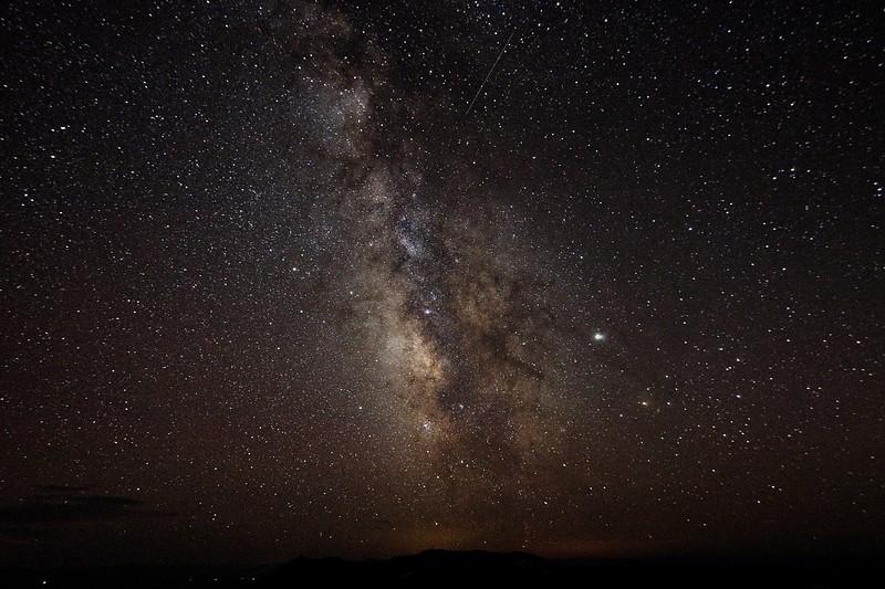 Steens Summit Milky Way