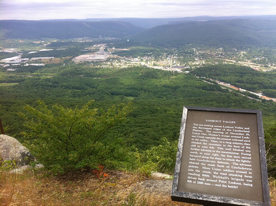 From Lookout Mountain, TN