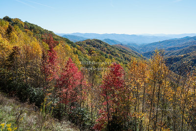 Foothills Parkway in Great Smoky Moutains National Park, Tennessee