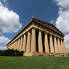 Nashville is the home of a very curious structure. During the city's centennial in 1897, they created a full scale reproduction of Athen's Parthenon. The citizens like it so much they maintained in and in 1925 they started work on a permanent building.
