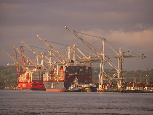 Monday Morning Seattle Waterfront