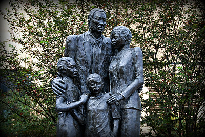 Monument to African American slaves, Savannah, Georgia