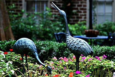Garden detail, Savannah, Georgia