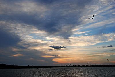 Sunset, Goose Island, Rockport TX