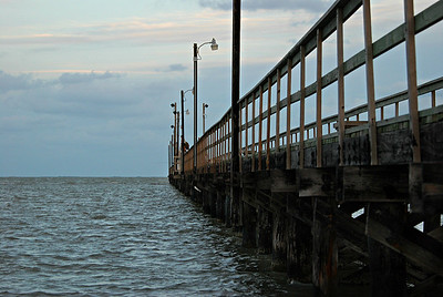 Goose Island State Park Pier, Rockport TX