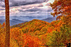October 14, 2011 - the mountains and colors of Smoky Mountain National Park, TN<br /> <br /> amazingly beautiful this time of the yr, and still not peak fall colors ! We wanted to hike to some waterfalls, but we stopped so often in overlooks to take pictures, there was no time for a hike ! Hope to take the train thru smokies in end of October..<br /> thanks for the comments on my fall shots !much appreciated !