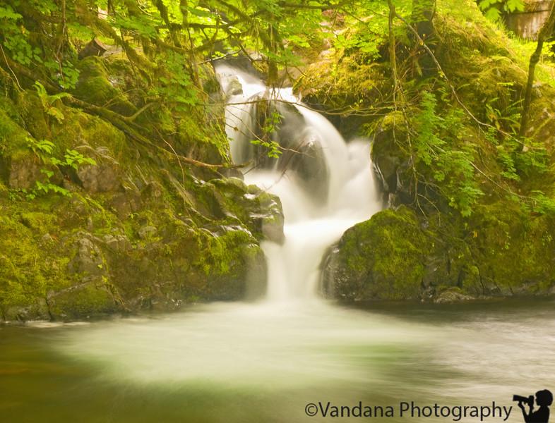 Waterfalls at Olympic national park, WA