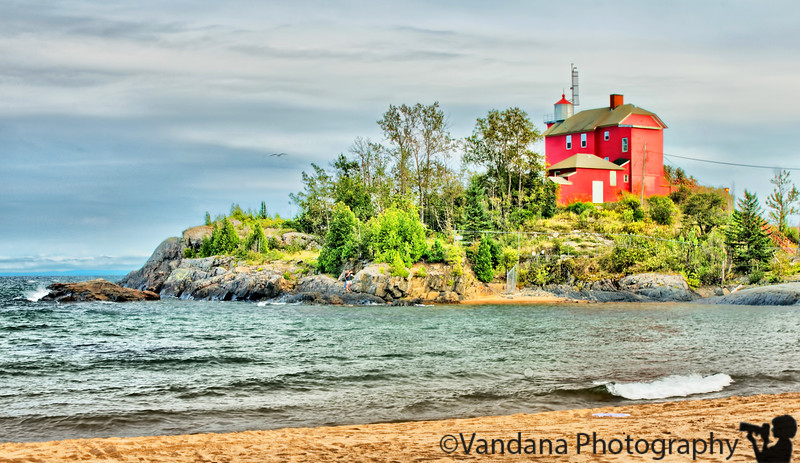 September 9, 2010 - The Marquette Harbor Lighthouse, Marquette, MI