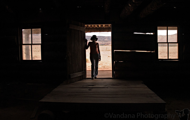 The Searchers - Inspired from the movie. At Ghost Ranch, New Mexico