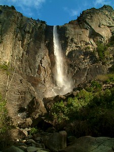 Yosemite - La cascata con scatto lento 2004-03-05 at 01-31-40