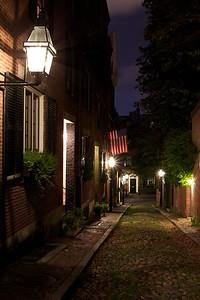 Old Boston street view