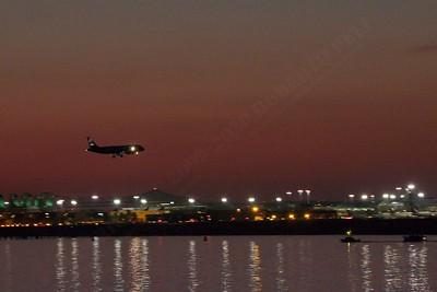 Landing at Boston Intl