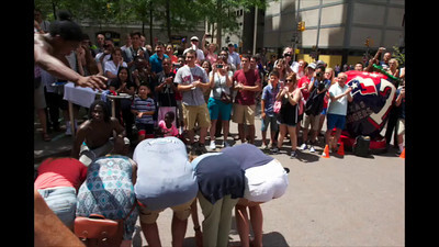 Street show time-lapse