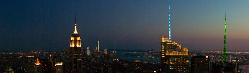 Freehand Manhattan Skyline