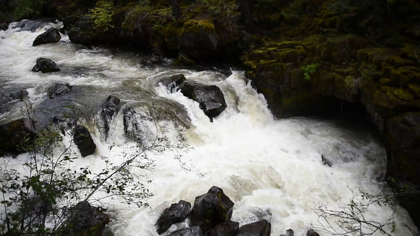 Video: Whirlpool at Rogue River, Oregon