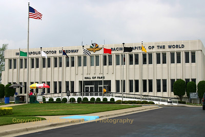"Indianapolis Motor Speedway's ""Hall of Fame"". The Indianapolis Motor Speedway Hall of Fame Museum, located five miles northwest of downtown Indianapolis on the grounds of the famous Indianapolis Motor Speedway, is recognized as one of the most highly visible museums in the world devoted to automobiles and auto racing. In 1987, the museum and Speedway grounds were honored with the designation of National Historic Landmark."