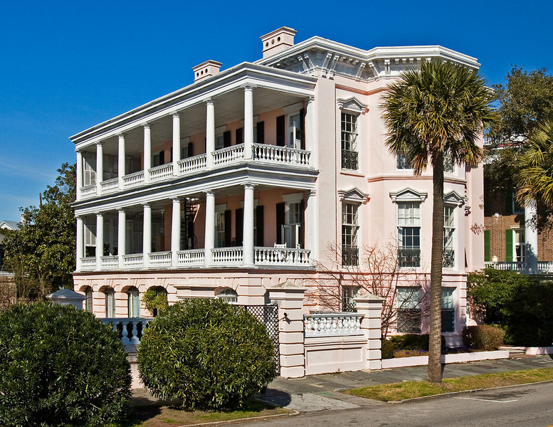 Old House in Charleston, South Carolina.
