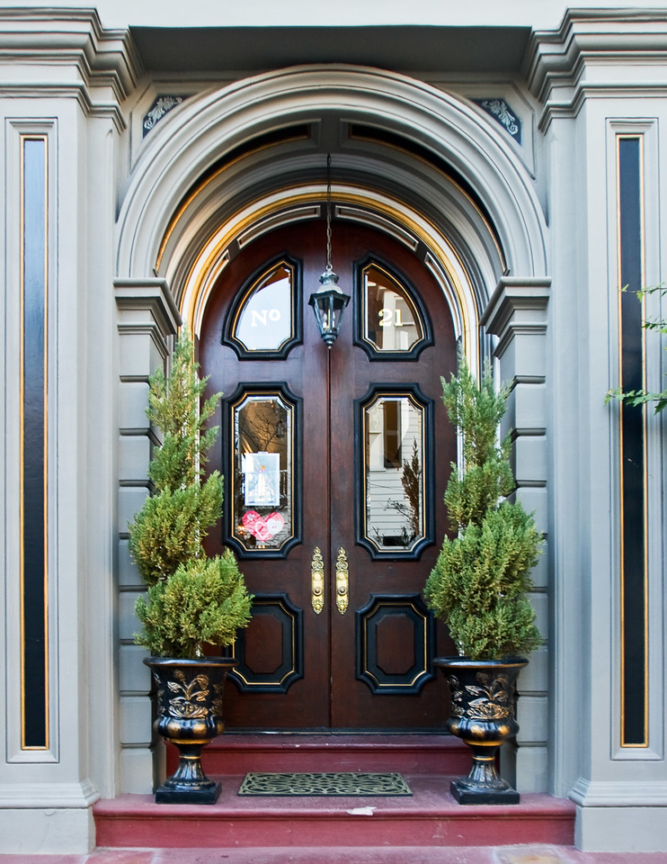Residence Door in Charleston, South Carolina.