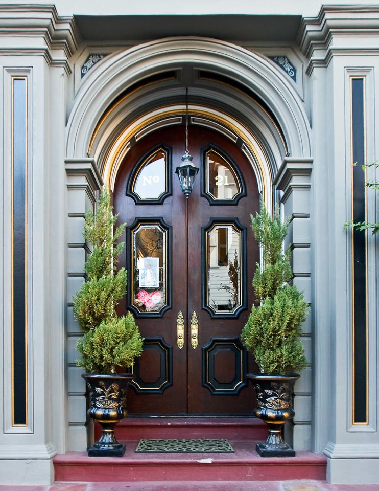Residence Door in Charleston, South Carolina.
