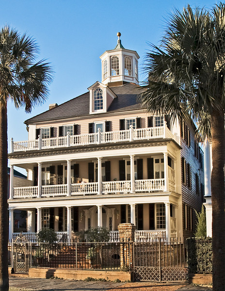 Another house in Battery Park in Charleston, South Carolina.