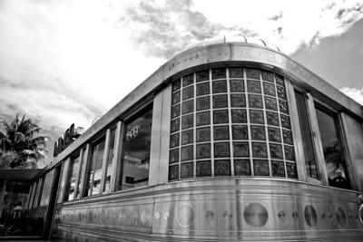 Art Deco diner, Miami Beach