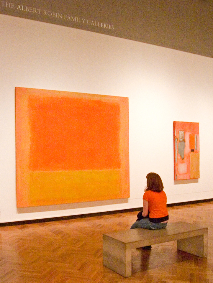 Does my outfit match the painting?  Chicago Art Institute.