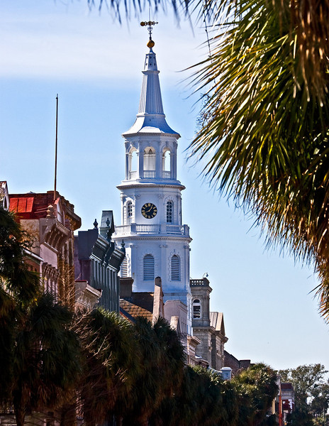 Church Tower in Charleston, South Carolina.