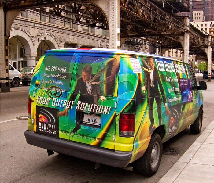 Digital Van, Chicago.