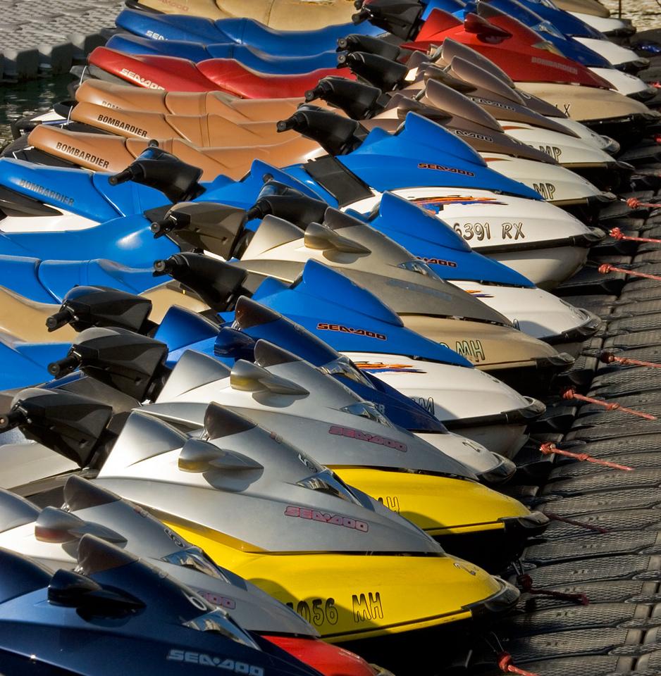 Boat Mooring at Key West, Florida