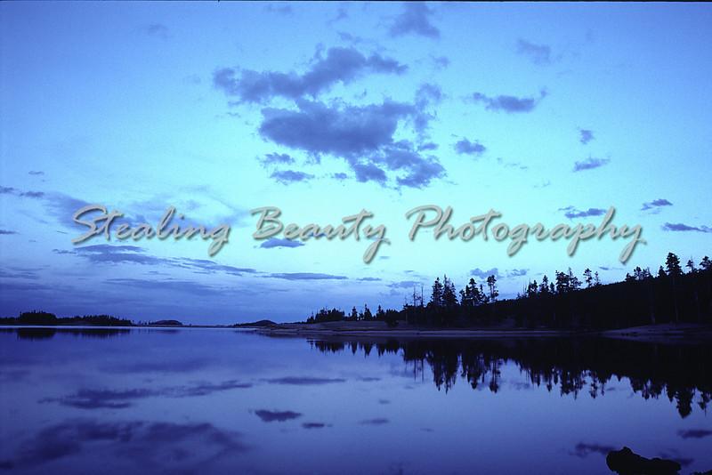 Twin Lake, Wyoming