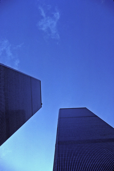 World Trade Center in NYC photographed 9/11/1981!!!