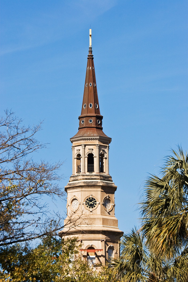 Church Tower in Charleston, South Carolina
