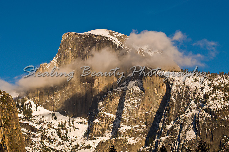 Half Dome Clouds