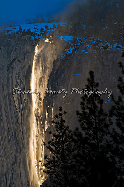 Horesetail Falls