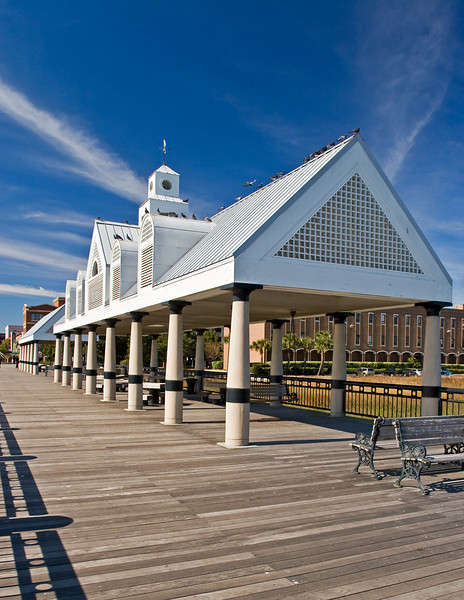 Pier house in Charleston, South Carolina