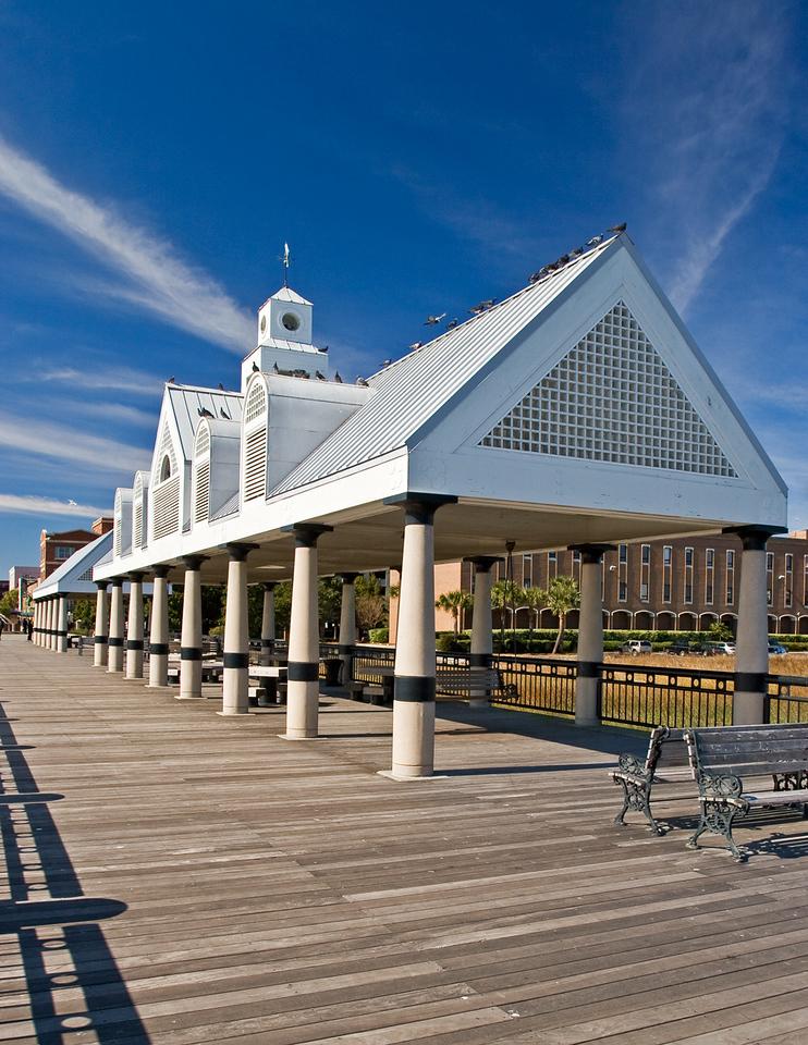 Pier house in Charleston, South Carolina
