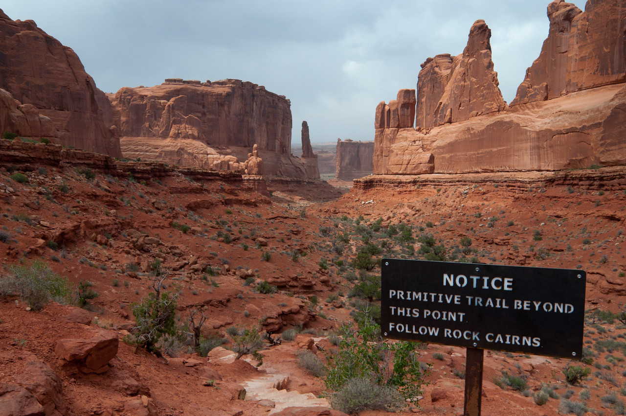 Park Avenue In Arches NP
