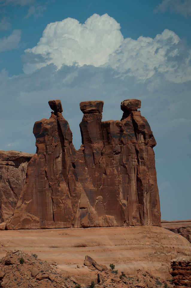 The Three Sisters  In Arches NP