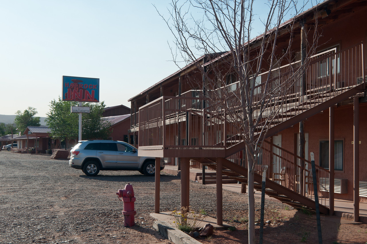The Hat Rock Inn -  Best Hotel in Mexican hat - actually had a nice pool in back