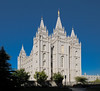 Salt Lake LDS Temple -- 1