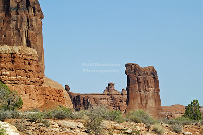 Sheep Rock in Arches National Park