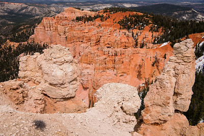 Rainbow Point overlook, Bryce Canyon