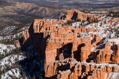 Rainbow Point in Bryce Canyon