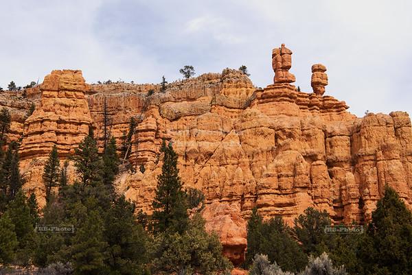 Balanced Rocks in Red Canyon