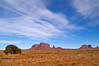 Winter with traces of snow in Monument Valley Navajo Tribal Park, Utah / Arizona, USA