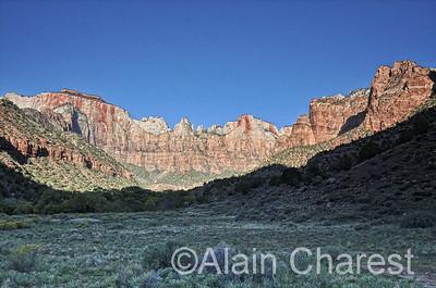 Zion National Park, Utah, USA, October / Octobre, 2013